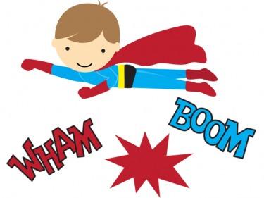 Super hero day clipart black and white Super hero day clipart - ClipartFest black and white