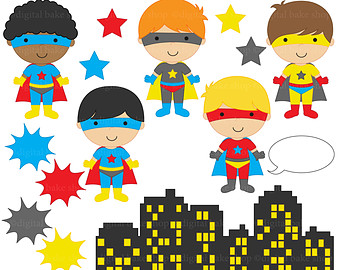 Super hero kids clipart graphic royalty free stock Super hero kids clipart - ClipartFest graphic royalty free stock