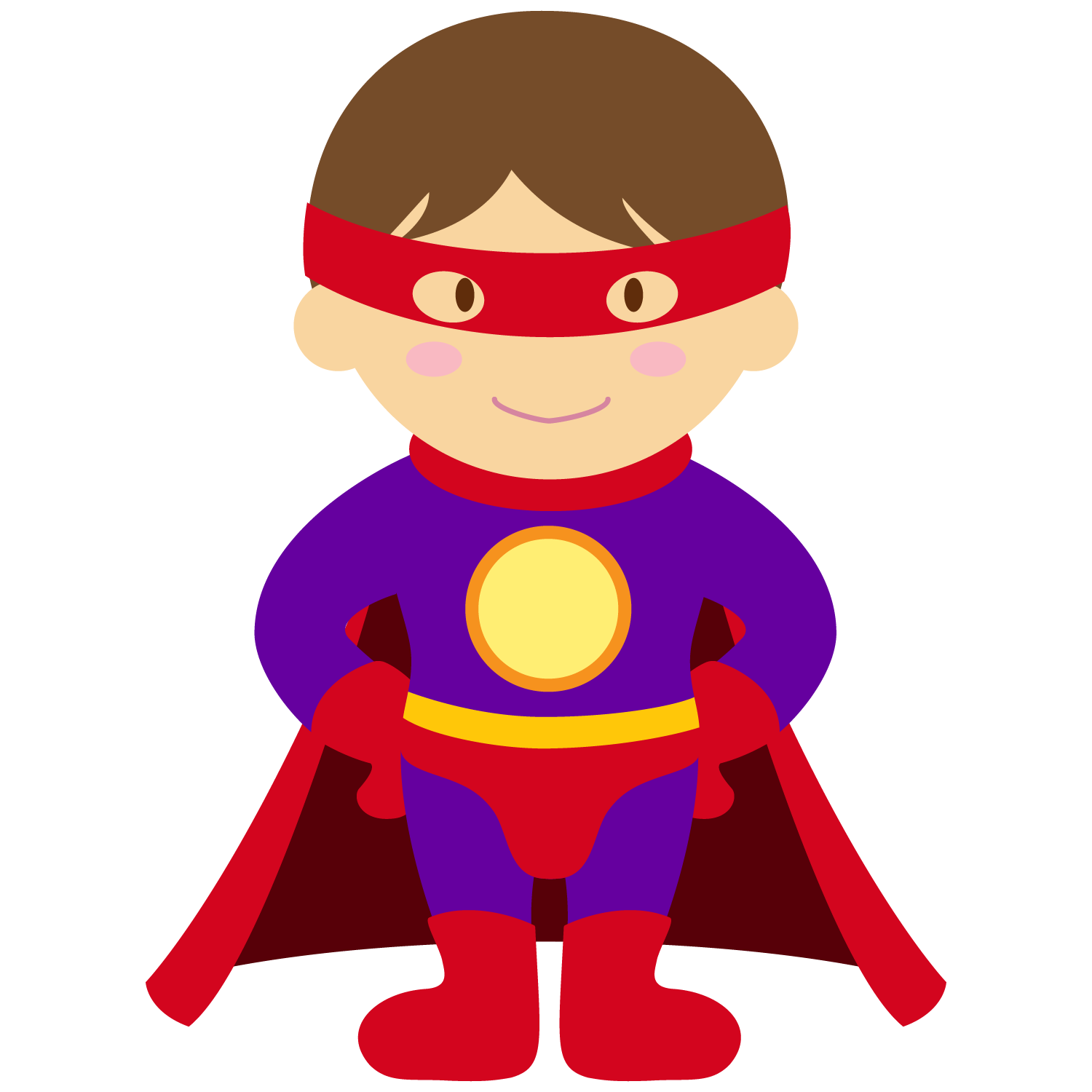 Super hero kids clipart graphic free library Kids dressed as Superheroes Clipart. - Oh My Fiesta! for Geeks graphic free library