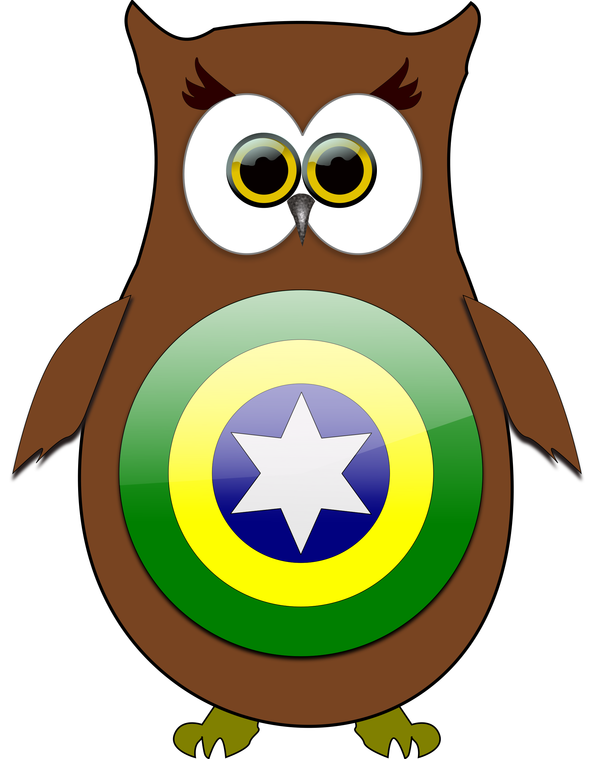Super hero owl clipart royalty free download Free owl brazil superhero clipart clipart and vector image - Clipartix royalty free download