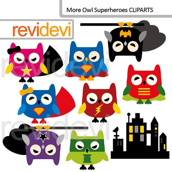 Super hero owl clipart png freeuse 17 Best images about Superhero Owls Crafts, Printables ... png freeuse
