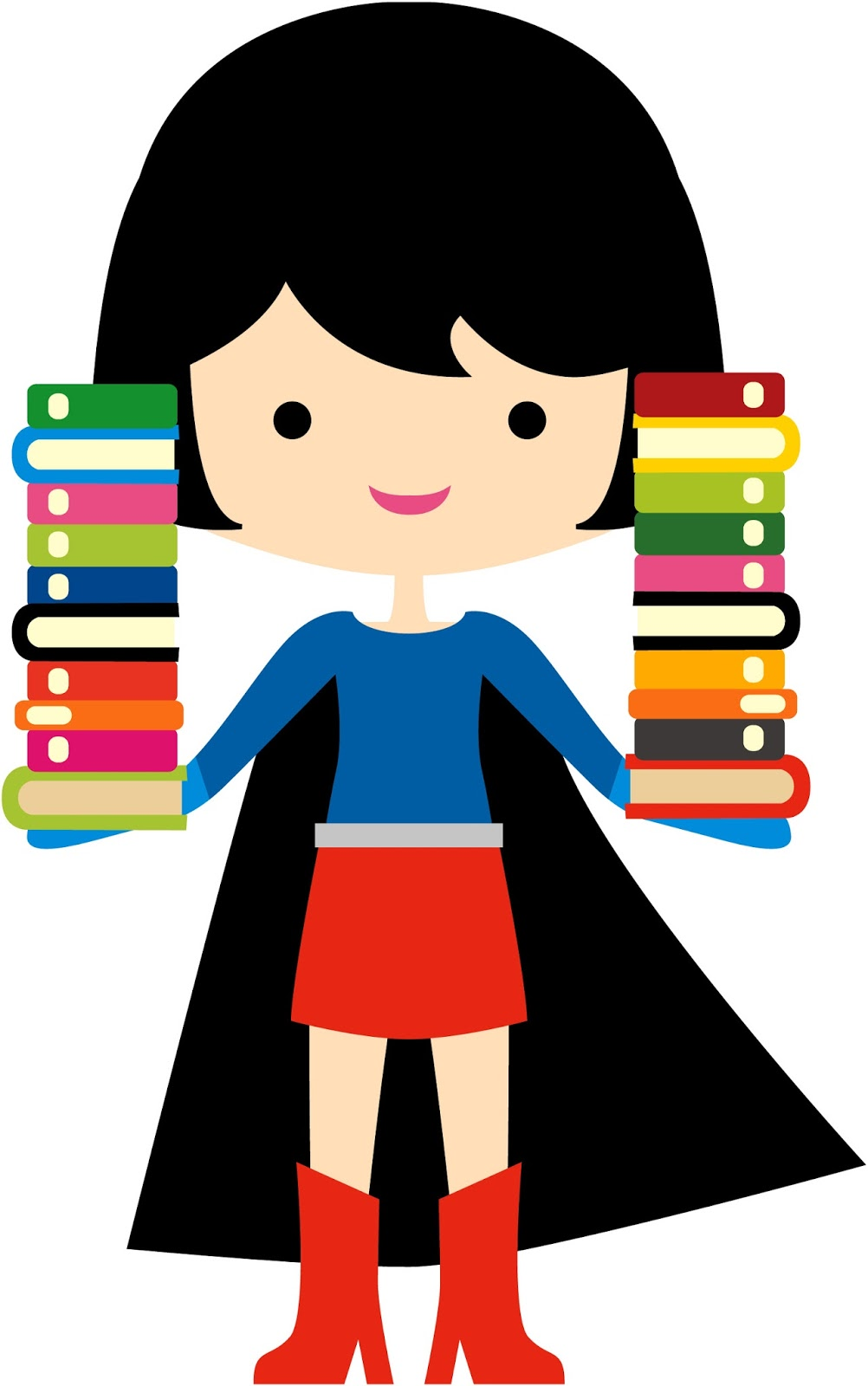 Super heros reading clipart png transparent Books Are Just the Beginning: Superhero Summer Reading png transparent