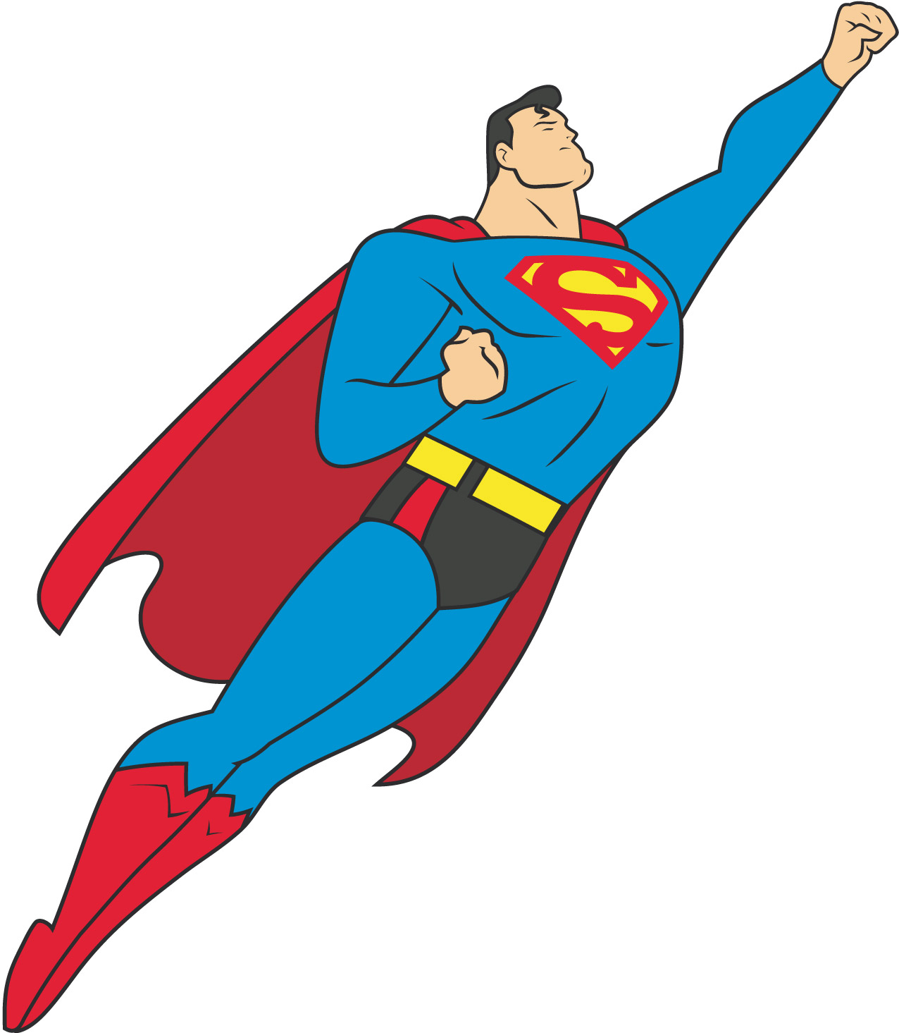 Superman crushing clipart jpg black and white library Free Superman Cliparts, Download Free Clip Art, Free Clip ... jpg black and white library