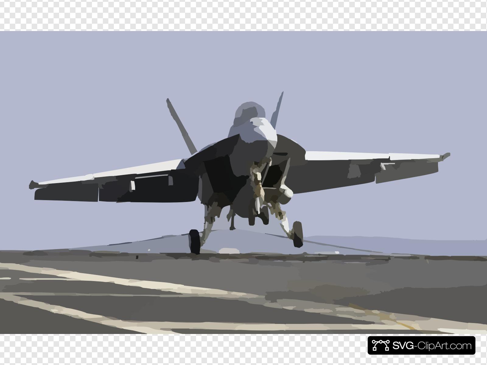 Super hornet flying clipart graphic stock An F/a-18f Super Hornet Makes An Arrested Landing On The ... graphic stock