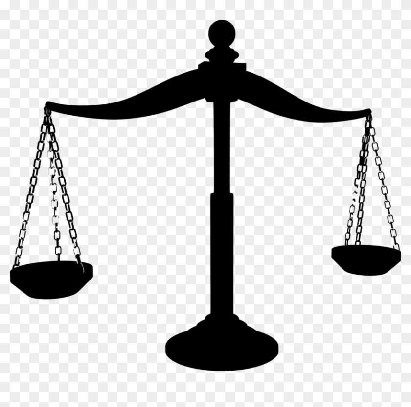 Lawyer scales of justice clipart transparent stock Lawyer Clipart Silhouette - Scales Of Justice Silhouette, HD ... transparent stock