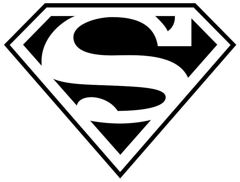 Super man clipart transparent jpg black and white stock Superman PNG Images Transparent Free Download | PNGMart.com jpg black and white stock