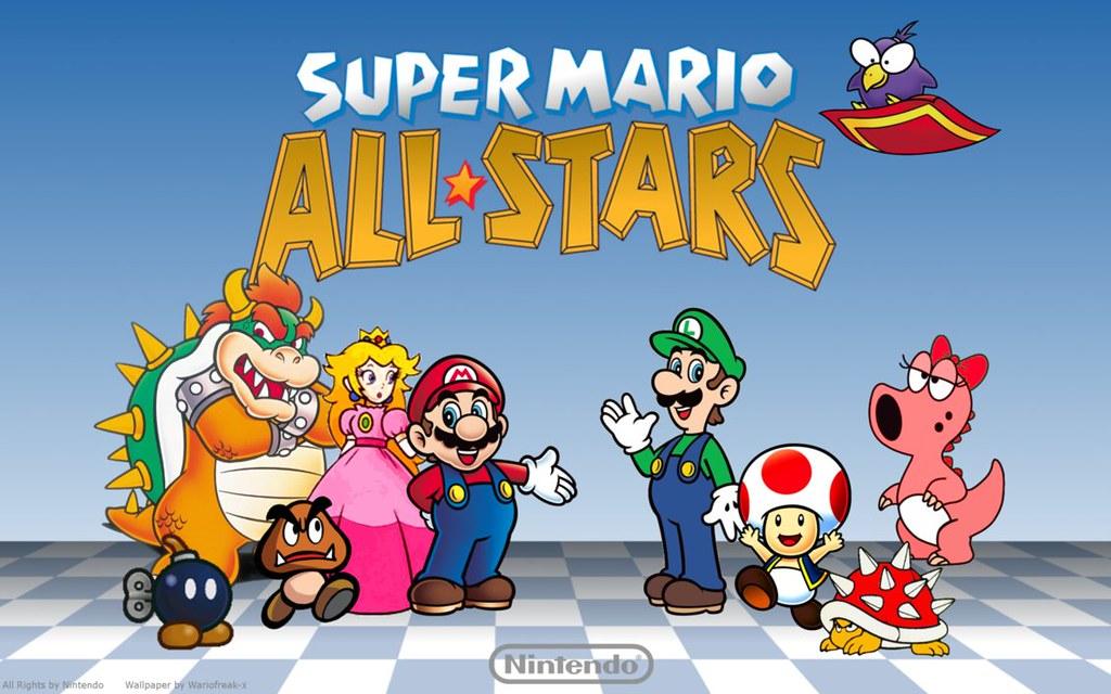 Super mario all stars clipart vector Super Mario All Stars Wii | What\'s New in Super Mario All St ... vector