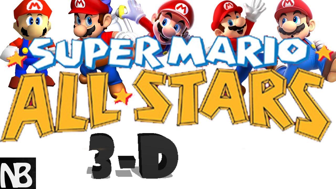Super mario all stars clipart graphic library stock Where\'s Super Mario All-Stars for 3D Mario Games?? graphic library stock