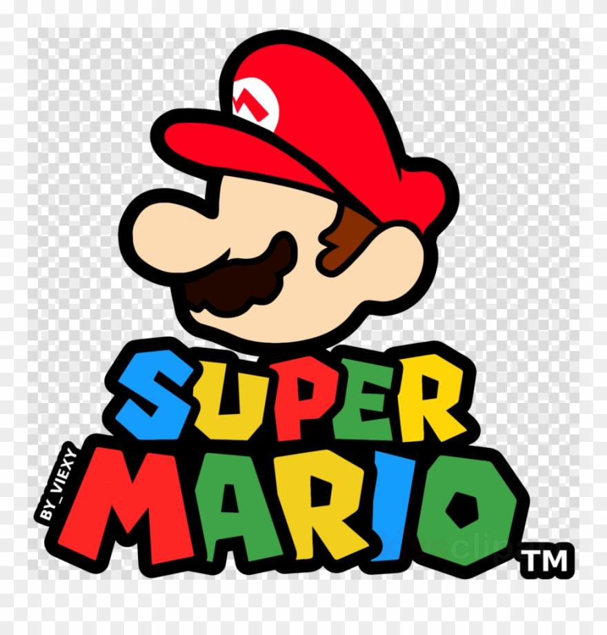 Super mario bros logo clipart graphic free download Download Super Mario Logo Clipart Super Mario Bros - Super ... graphic free download