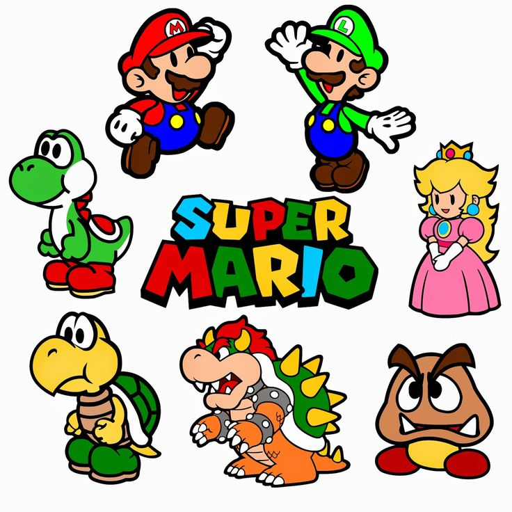 Super mario brothers clipart vector royalty free stock Free Mario Bros Cliparts, Download Free Clip Art, Free Clip ... vector royalty free stock