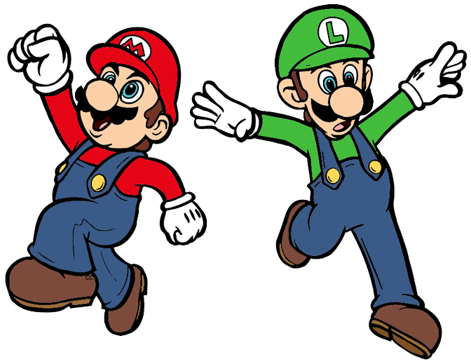Super mario brothers clipart clip royalty free library Super Mario Bros Clip Art | Cartoon Clip Art clip royalty free library