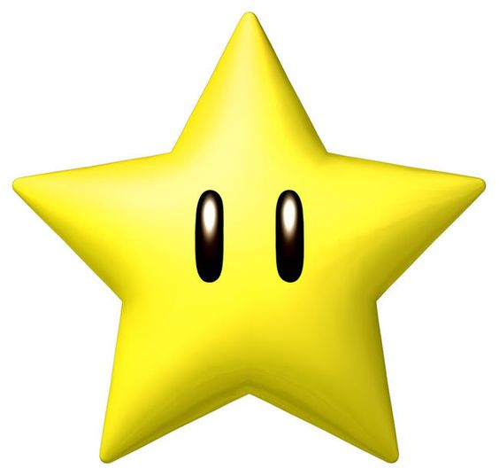 Super mario character clipart png free library Super Mario star | Super Mario | Pinterest | Super mario bros ... png free library