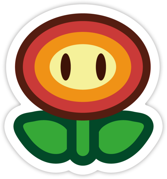Super mario star eyes clipart png free library Fire Flower | Paper Mario Wiki | FANDOM powered by Wikia png free library