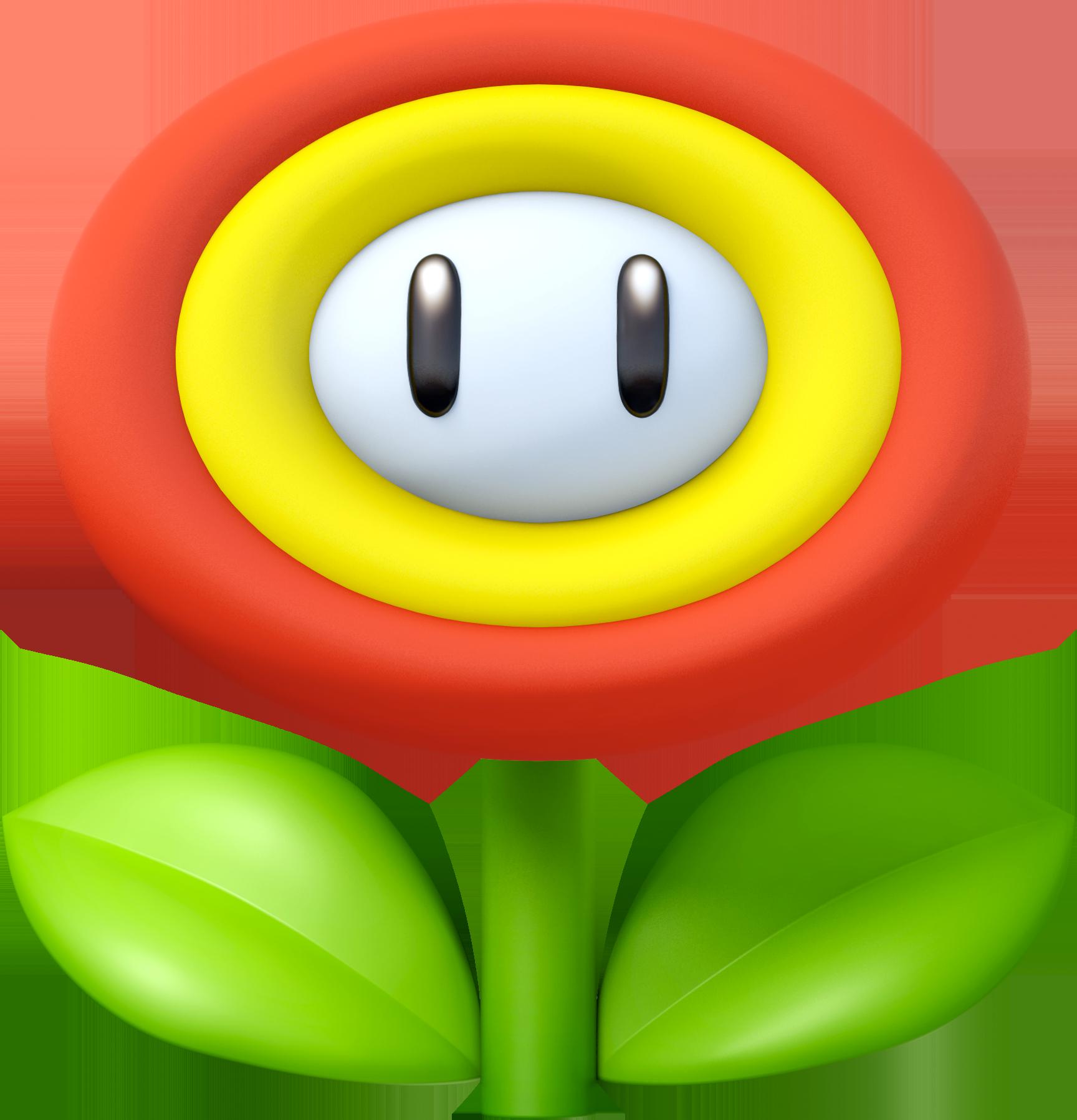 Super mario star eyes clipart clipart royalty free download Fire Flower | Nintendo | FANDOM powered by Wikia clipart royalty free download