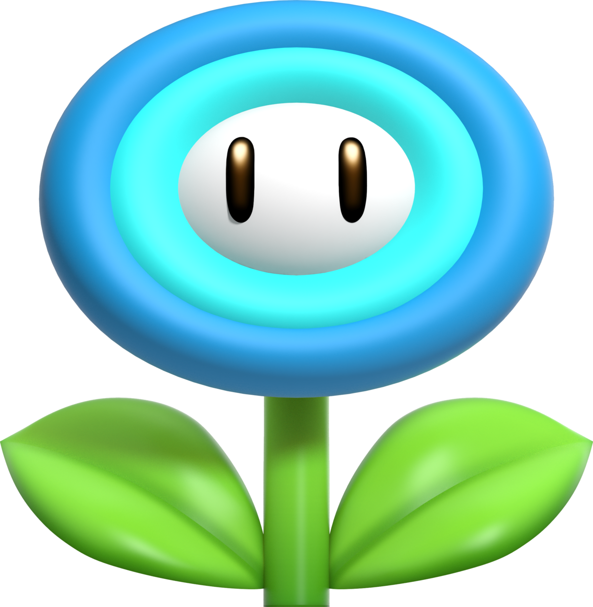 Super mario unneeded flowers clipart graphic free library Ice Flower - Super Mario Wiki, the Mario encyclopedia graphic free library