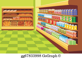 Suprmarket clipart image royalty free stock Supermarket Clip Art - Royalty Free - GoGraph image royalty free stock