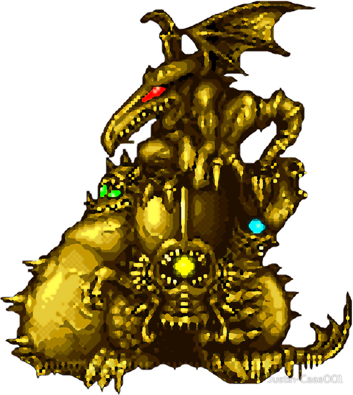 Super metroid clipart jpg library Super Metroid - Boss Statue