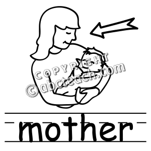 Super mom royalty free clipart black and white png stock Mom Clipart Free | Free download best Mom Clipart Free on ... png stock