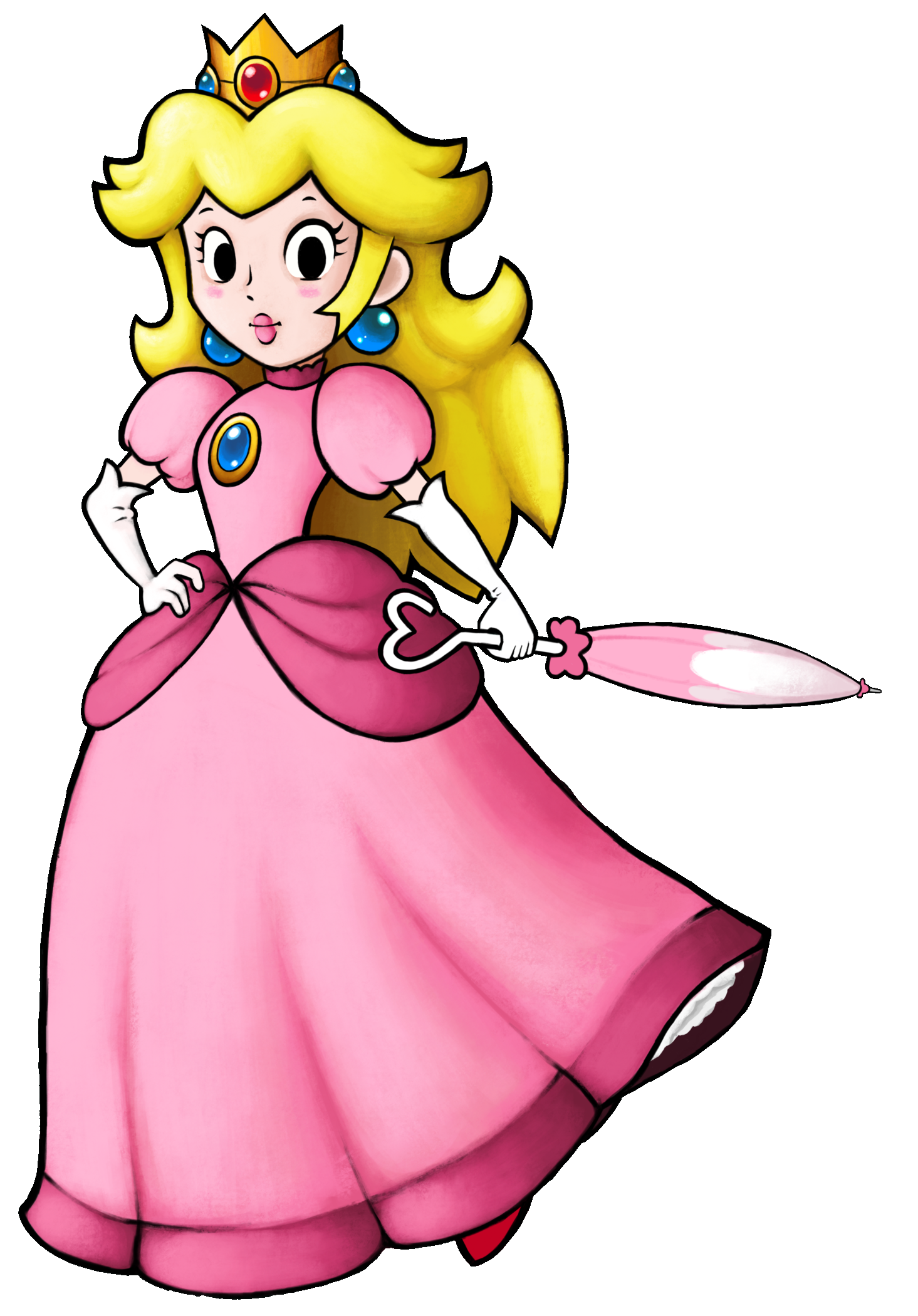 Super princess peach clipart graphic library library Princess Peach Clipart fantendo | Super Mario and Princess ... graphic library library