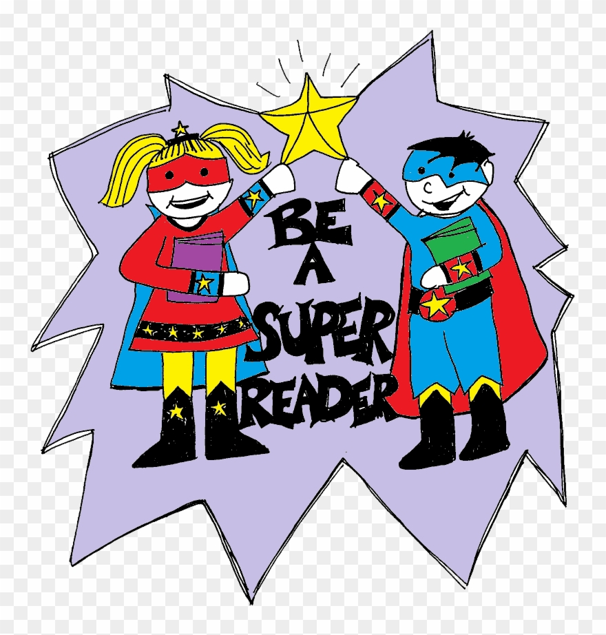 Super readers clipart image freeuse stock The Reading Intervention Program Continues To Move - Super ... image freeuse stock