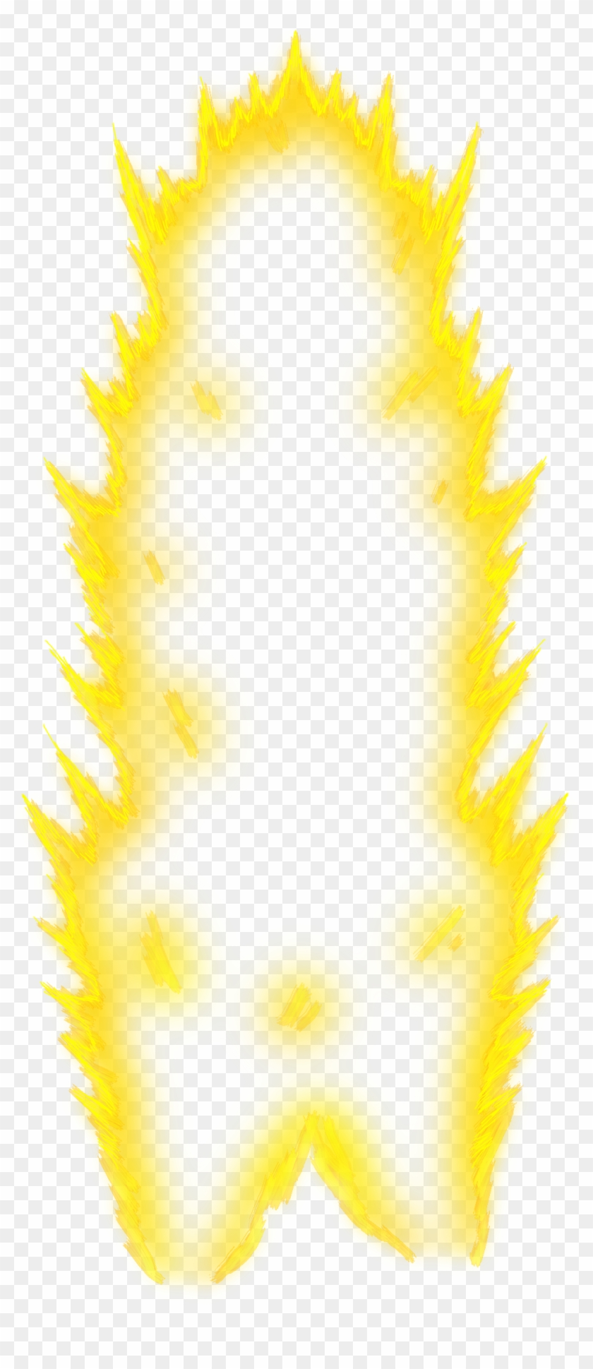 Super saiyan flames clipart png royalty free Super Saiyan Aura Png, Transparent Png - 692x1153(#232381 ... royalty free