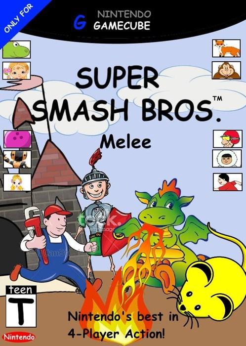 Super smash bros clipart clipart free Super Smash Bros Melee   Clip Art Covers   Know Your Meme clipart free