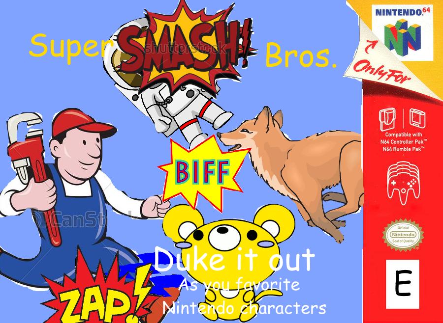 Super smash bros clipart graphic library download Super Smash Bros. clipart cover   Clip Art Covers   Know Your Meme graphic library download