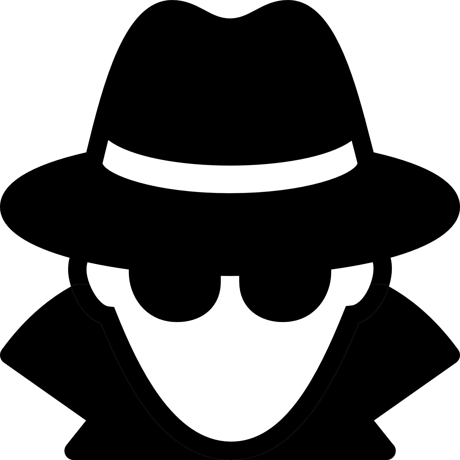 Library of super spy svg transparent download png files ...