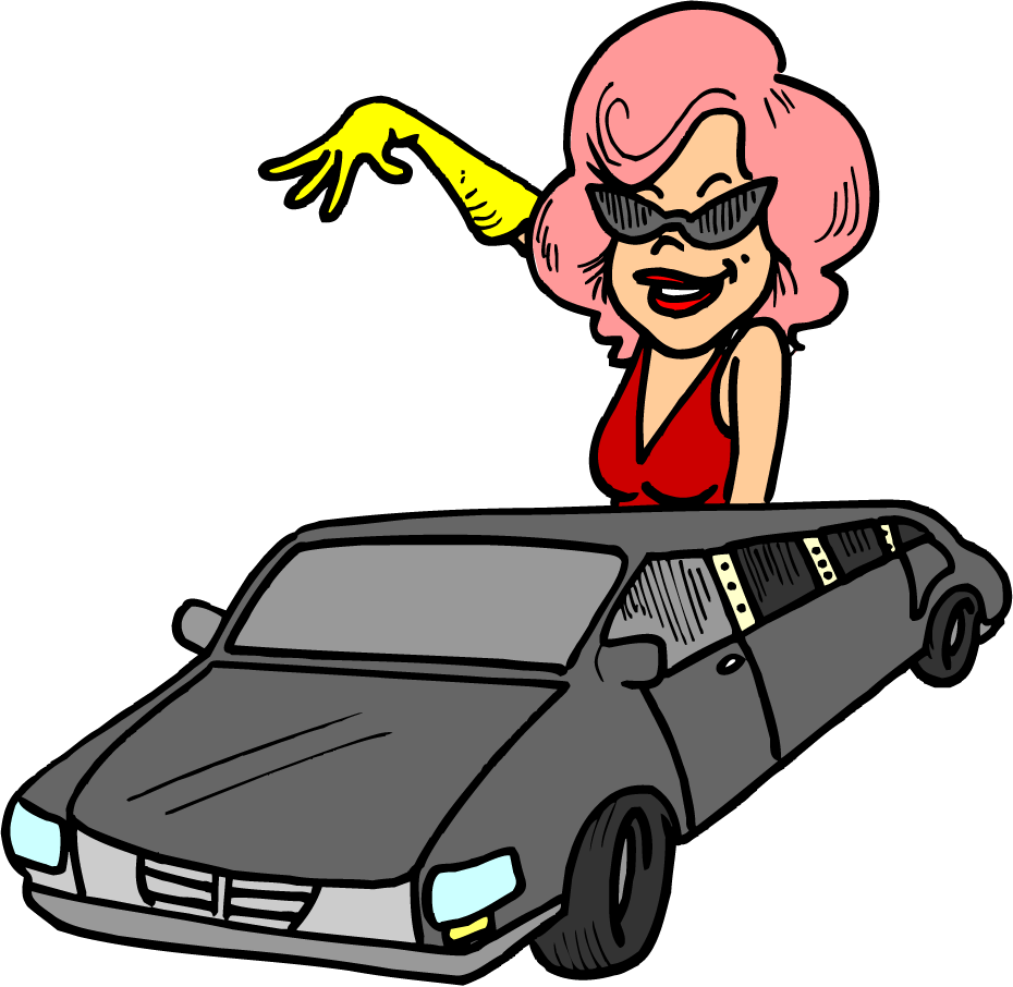Super star clipart black and white Ride Like A Super Star With Super Star Limousine Of Orlando ... black and white
