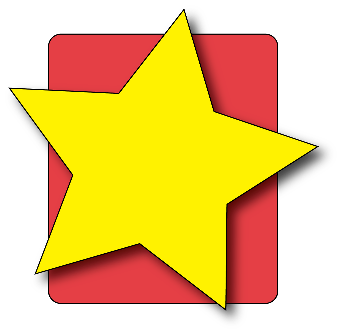 Super star clipart banner black and white library Stars Clipart For Kid Free collection | Download and share Stars ... banner black and white library