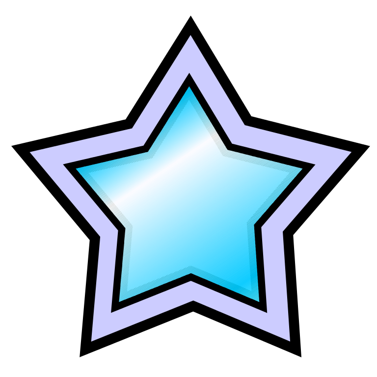Super star clipart vector royalty free download File:Super Star.svg - Wikimedia Commons vector royalty free download