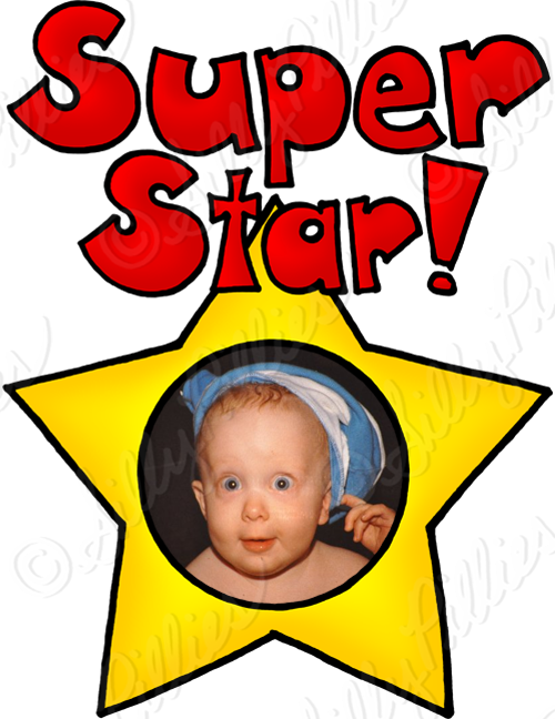 Super star student clipart png black and white Silly Pillies Illustrations: August 2014 png black and white