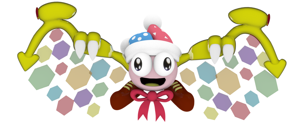 Super star student clipart jpg black and white stock Kirby Super Star) Evil Marx by Rippertrap on DeviantArt jpg black and white stock
