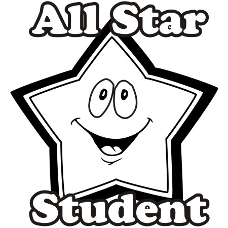 Super student clipart black and white clip freeuse library Free Star Student Cliparts, Download Free Clip Art, Free ... clip freeuse library