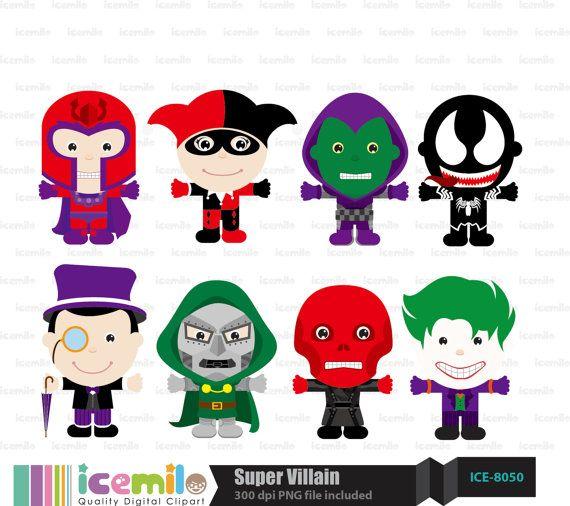 Super villain clipart clip transparent download Super+Villain+Digital+Clipart+by+IcemiloClipart+on+Etsy,+$ ... clip transparent download