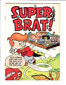 Superbrat clipart png library Details about Super Brat! No 4 1960\'s Austrailian - \