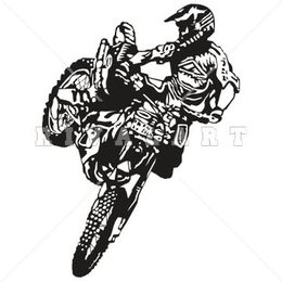 Supercross clipart freeuse download Download black white motocross clipart Monster Energy AMA ... freeuse download