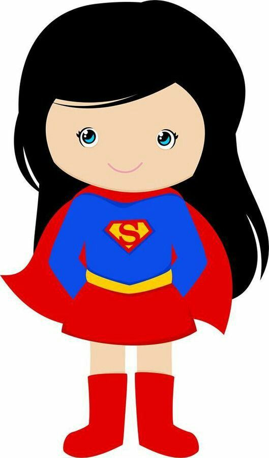 Supergirl clipart vector freeuse Supergirl | Cliparts & Vector | Superhero clipart, Superman ... vector freeuse