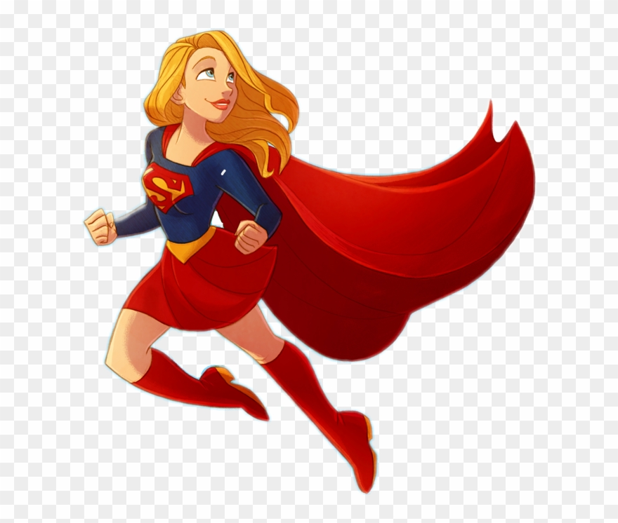 Supergirl clipart graphic freeuse Supergirl Superhero Superpower Girlpower - Comics Clipart ... graphic freeuse