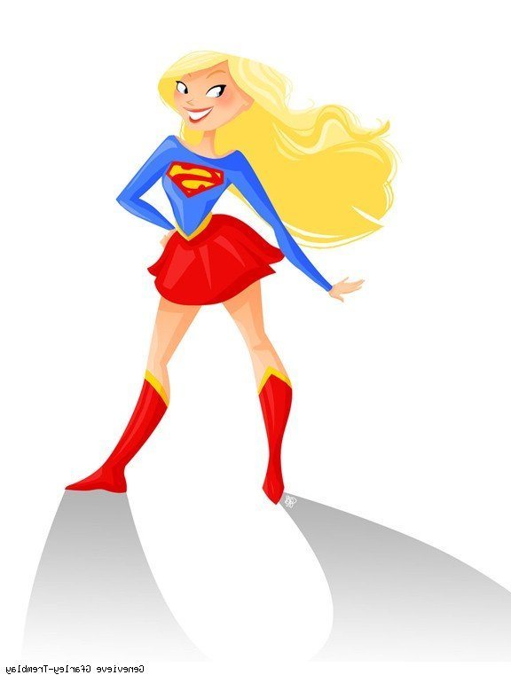 Supergirl clipart transparent stock Supergirl Clipart At Getdrawings Free For Personal Luxurious ... transparent stock