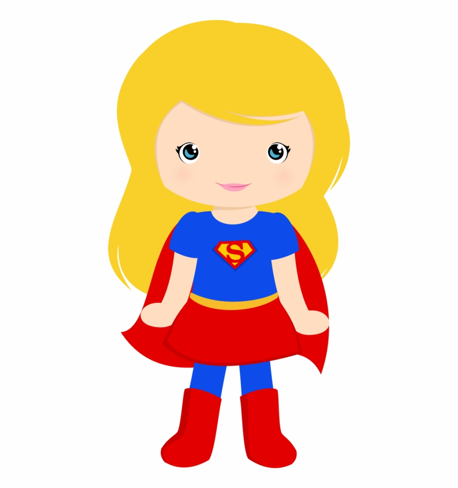 Supergirl clipart vector royalty free stock Super Girl Clipart Party - Supergirl Clipart {#198378} - Pngtube vector royalty free stock