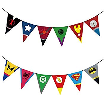 Superhero banner clipart graphic transparent Amazon.com: Big Dot of Happiness Custom BAM! Superhero ... graphic transparent