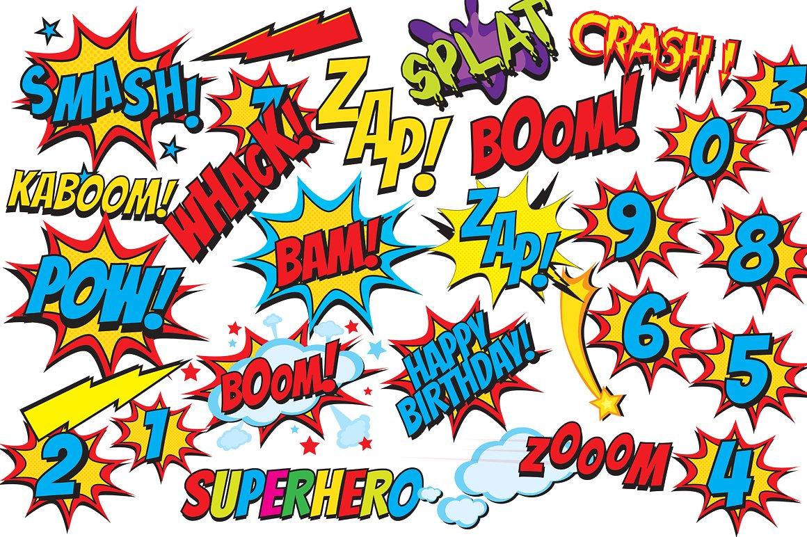 Superhero border clipart banner library stock Free Superhero Background Cliparts, Download Free Clip Art ... banner library stock