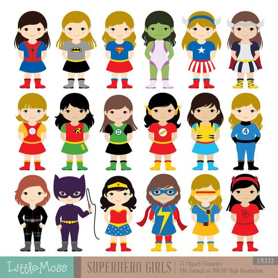 Superhero boy and girl clipart 1 color clipart free 17 Best ideas about Superhero Costumes Kids on Pinterest ... clipart free