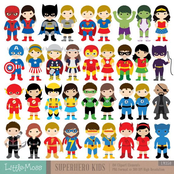 Superhero boy and girl clipart 1 color png library 17 Best ideas about Superhero Costumes Kids on Pinterest ... png library