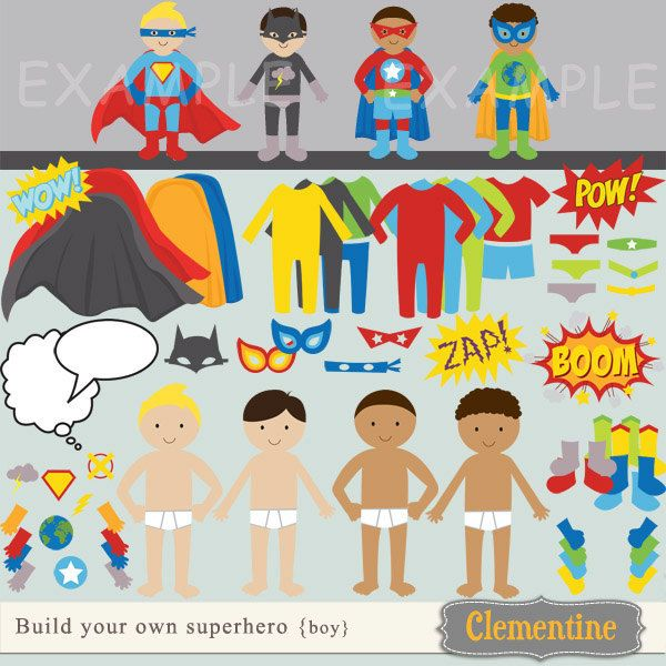 Superhero boy and girl clipart 1 color graphic library library 1000+ images about Superhero Birthday Party on Pinterest   Wonder ... graphic library library