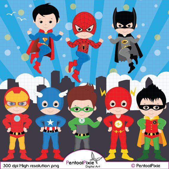 Superhero christmas clipart image royalty free Superhero clipart Super Hero clipart Superhero by ... image royalty free