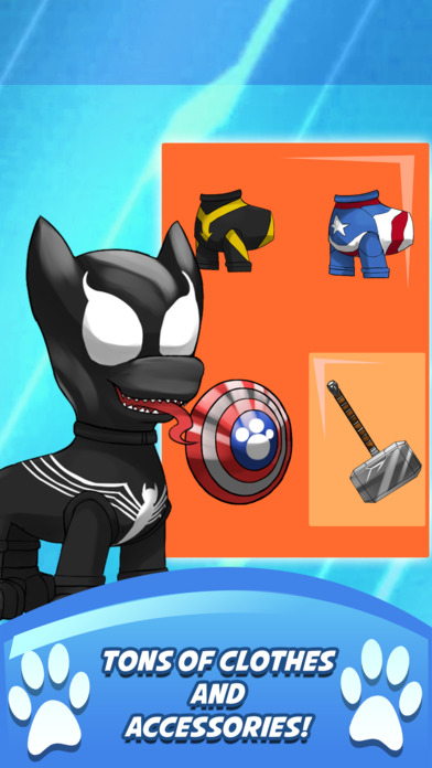 Superhero clipart creator jpg black and white Superhero Pet Rescue Creator for Paw Patrol on the App Store jpg black and white