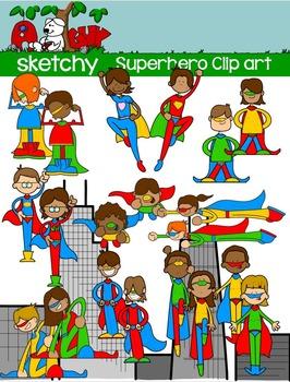 Superhero clipart pre k png freeuse stock Superhero / Super hero Clip art | Pre-K ~ 8 Hot Off the ... png freeuse stock