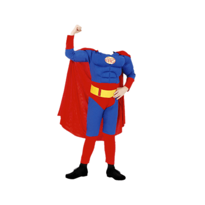 Superhero costume clipart clip black and white Costume Superhero transparent PNG - StickPNG clip black and white